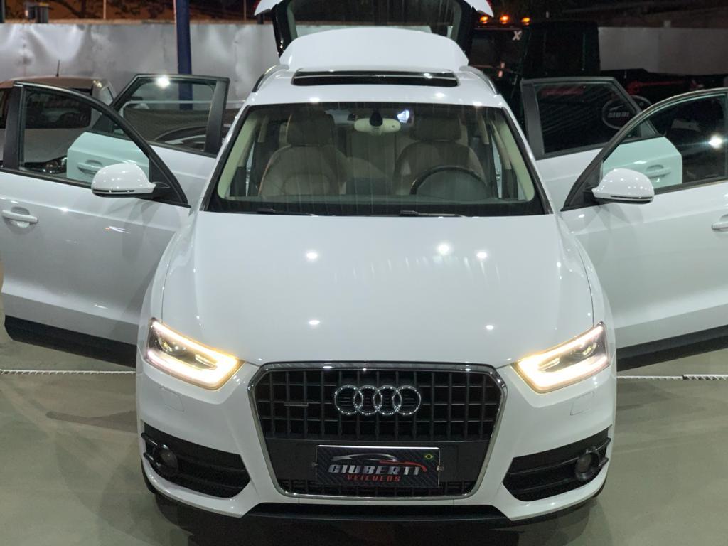 Vendido Audi Q3 2 0t Interior Caramelo Giuberti Veiculos